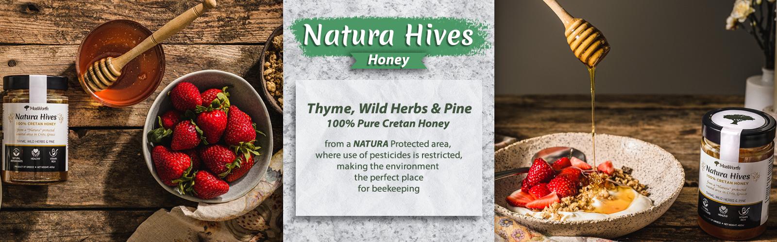 Natura Hives Homepage Banner